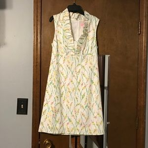 Lilly Pulitzer floral dress 6